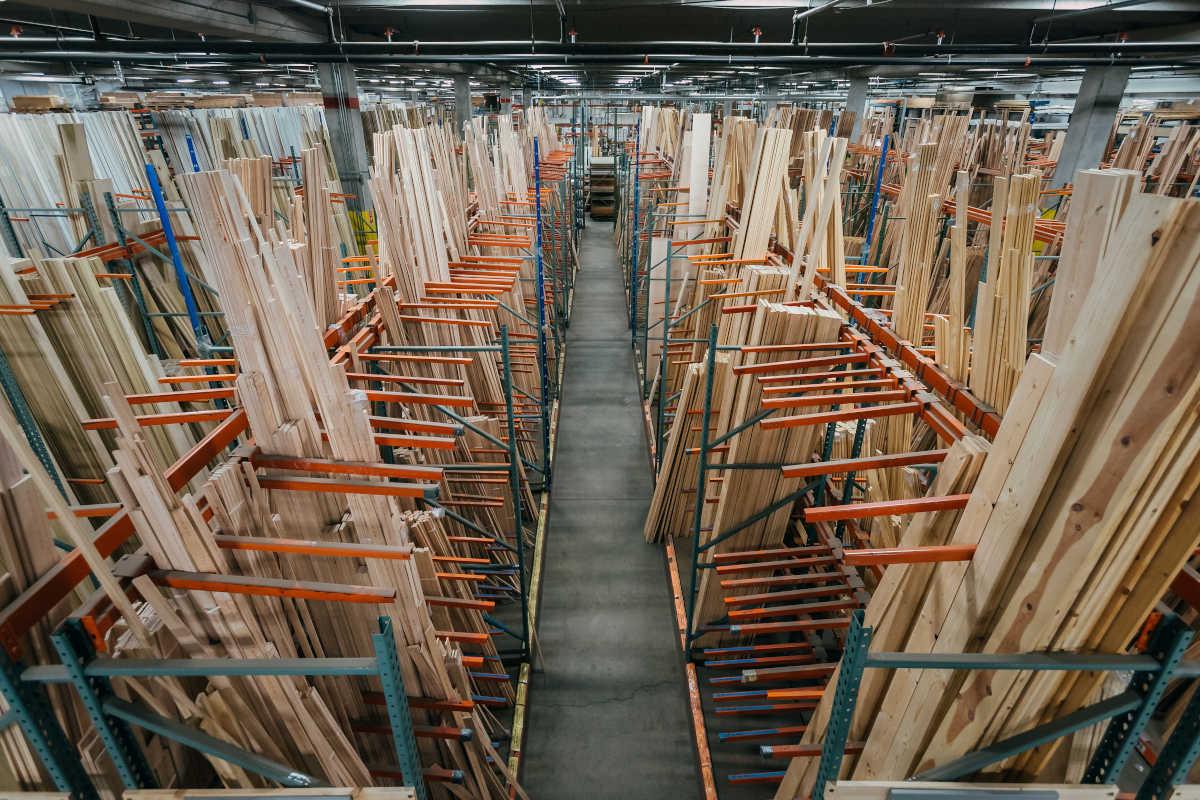 Stock Millwork Menu